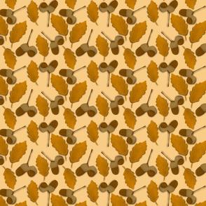 Oak leaves and acorns medium