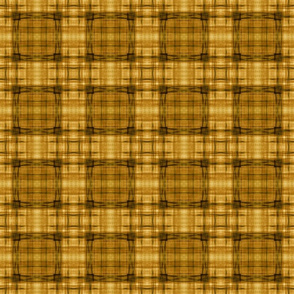 TEXTURE PLAID BROWN 1