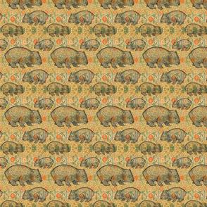 Rossetti's Wombat-- Yellow