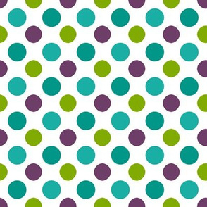 Pool Party Multi Dots