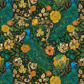 Jewel Tones Rococo