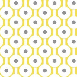Illuminating Yellow Ultimate Gray dots