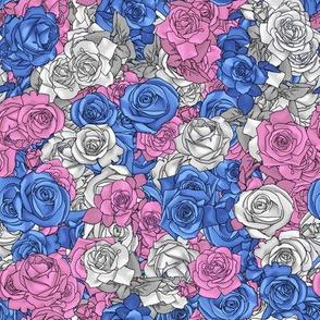 Trans Pride Rose