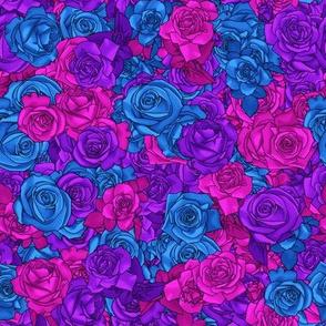 Bi Pride Rose