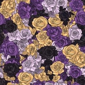 Nonbinary Pride Roses