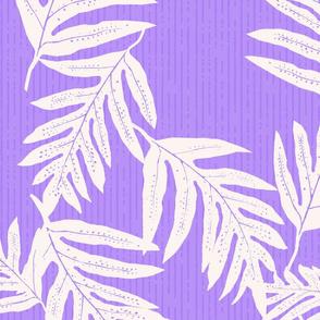 Jumbo Vintage Hawaiian fern-bkgrd-purple