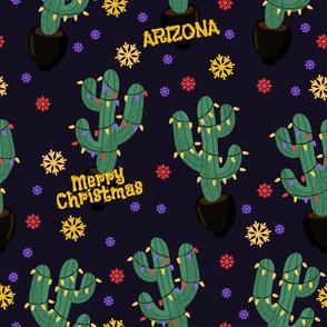Arizona Cactus Christmas
