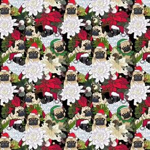 Because Christmas Pug _8x8