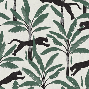 Tropical Wildlife Collection - Sage 01 / Large