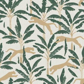 Tropical Wildlife Collection - Sage and Beige 01 / Small