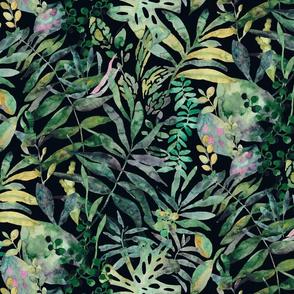 Jungle - moody tropical flora - medium