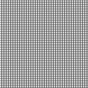 gingham ultra small dark grey