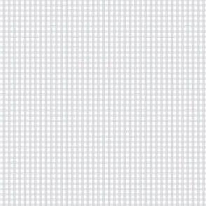 gingham ultra small light grey