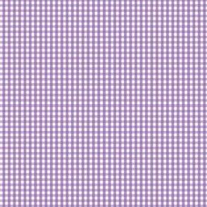 gingham ultra small amethyst purple
