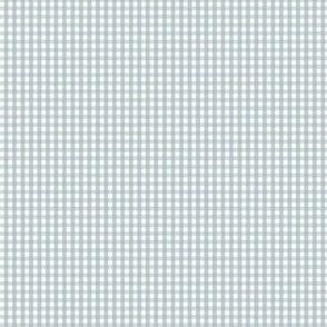 gingham ultra small slate blue