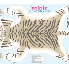Tummy Time Tiger