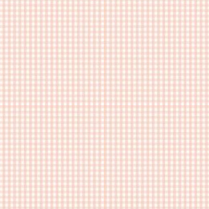 gingham ultra small blush