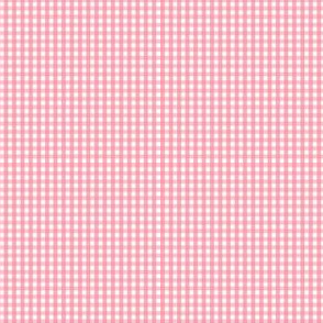 gingham ultra small pretty pink