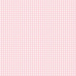 gingham ultra small light pink