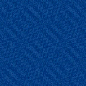 tiny circles in squares in blue - Turing pattern 6