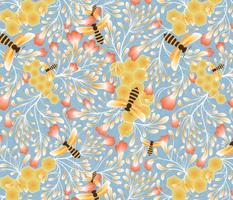 honey bees microcosm
