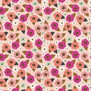 Teeny Pink Floral