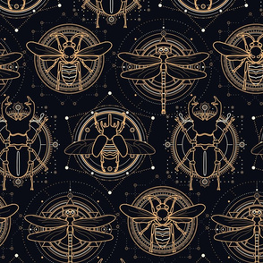 Sacred insects