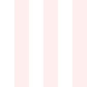 """1"""" Light Baby Pink and White Stripes - Vertical - 1 Inch / 1 In / 1in"""