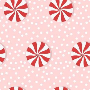 (M) Winter Peppermint Candy - Medium
