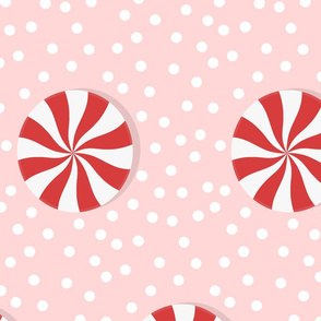 (L) Winter Peppermint Candy - Large