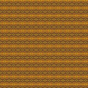 Dandelion Leaf Veins - Yellow and Brown