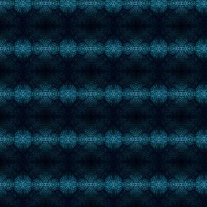 Maple Leaf Veins - Black and Blue