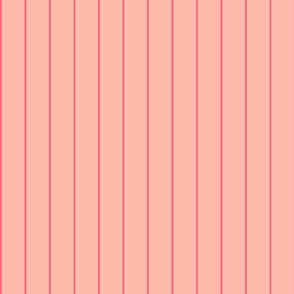 salmon and pink stripes