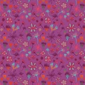 Stripey-Daisy-Field-of-Flowers-bright-plum