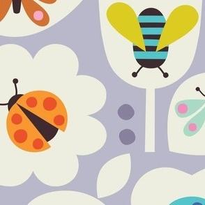 Micro Bugs Grey Large Scale