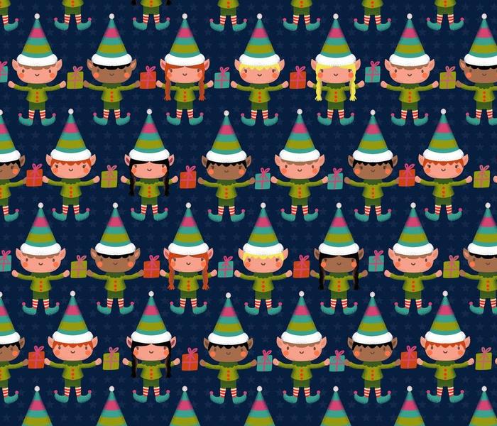 christmas elves microscopic fairy world