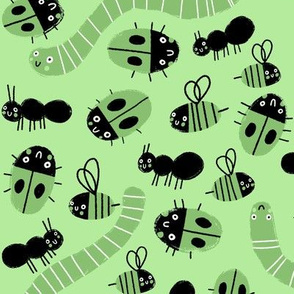 Insect Universe on Paradise Green
