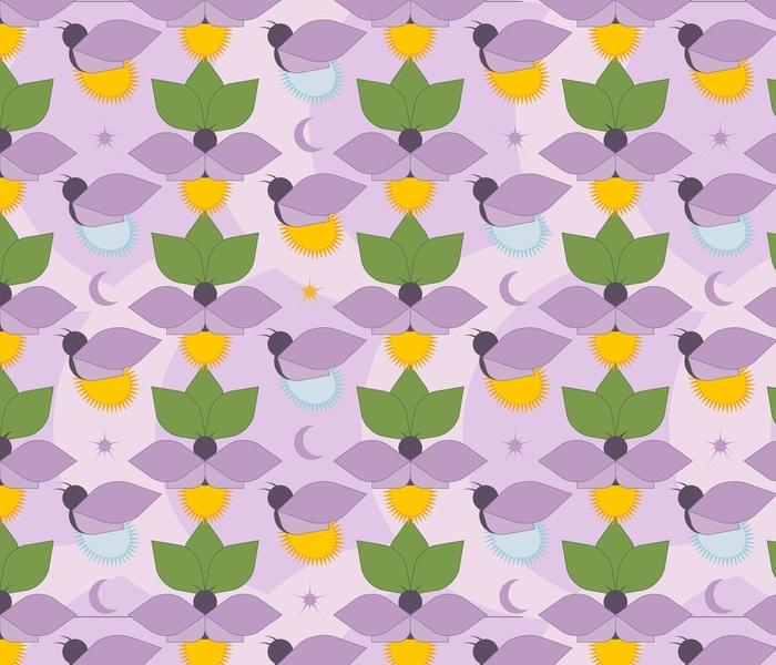 fireflies - purple