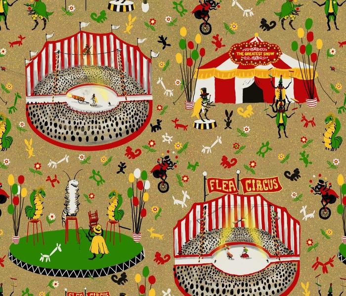 Flea Circus - large - microscopic world