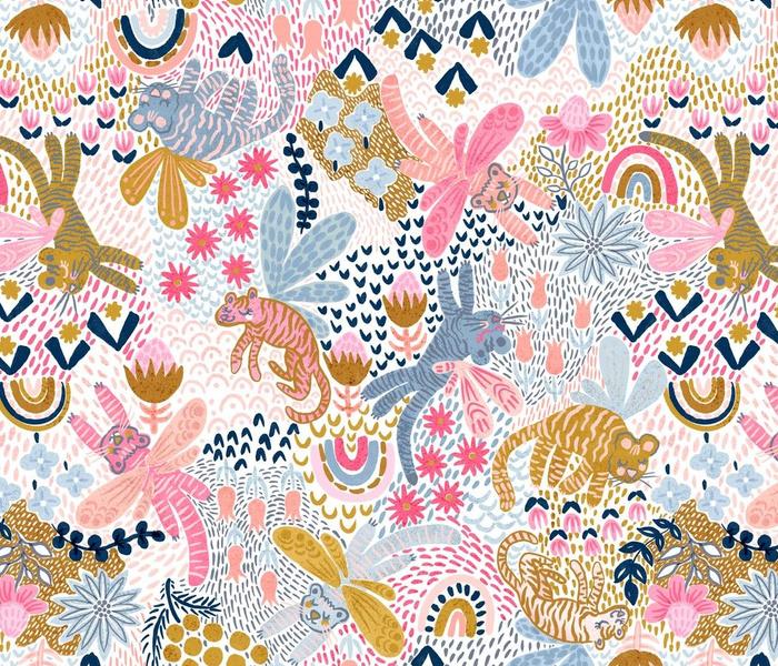 Whimsy Tigerfly Wonderland