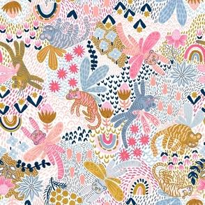 "Whimsy Tigerfly Wonderland 18"""