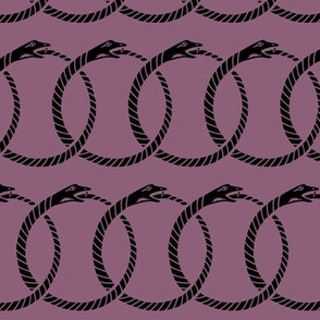 ouroboros - purple