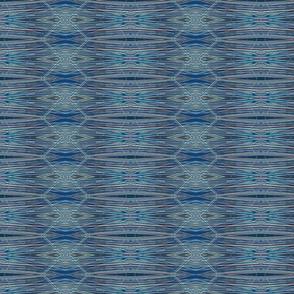 Linen Fibres - Blue