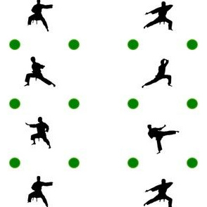 Taekwondo Green Dots