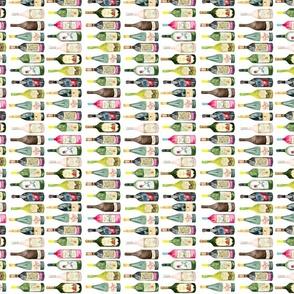 wine bottle pattern sideways