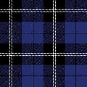 tartan royal blue ramsay 4 inch