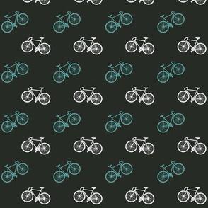 Bicycle Print - Teal
