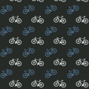 Bicycle Print - Blue