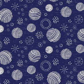Happy Crafter Circles in Midnight Blue