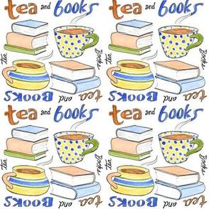Hot tea and books